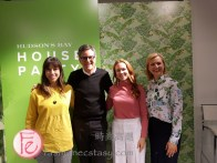 Kimberley Brown, Brian Gluckstein Christine Dovey, Chef Anna Olson
