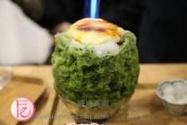 台北金雞母燒冰抹茶Jingimoo Taipei Fire Matcha Ice