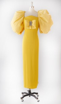 Evening dress, 1990Peter Keppler (label founded in Munich, 1978, closed 2003)SilkCollection of Marion Sherman, worn in 1990 to a wedding