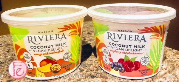 Maison Riviera new Vegan coconut milk Delight line of yogurt