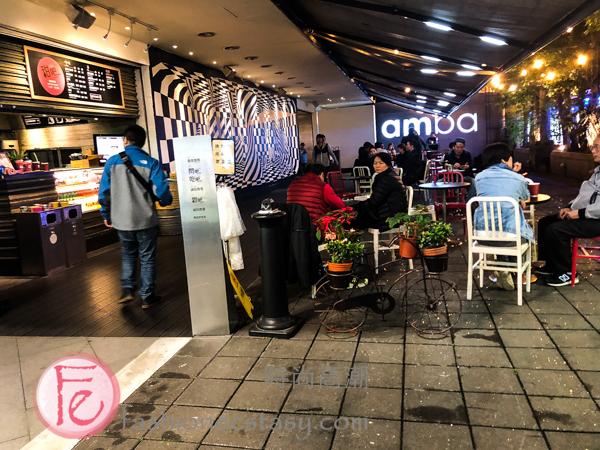 Amba 西門町意舍酒店室外座位 (AMBA Hotel Taipei Ximending patio