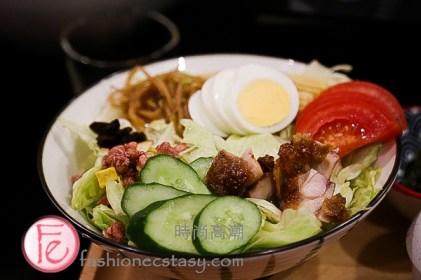 """日日好時光「雞肉優格沙拉」($180)/ """"Chicken Yogurt Salad"""" ($180)"""