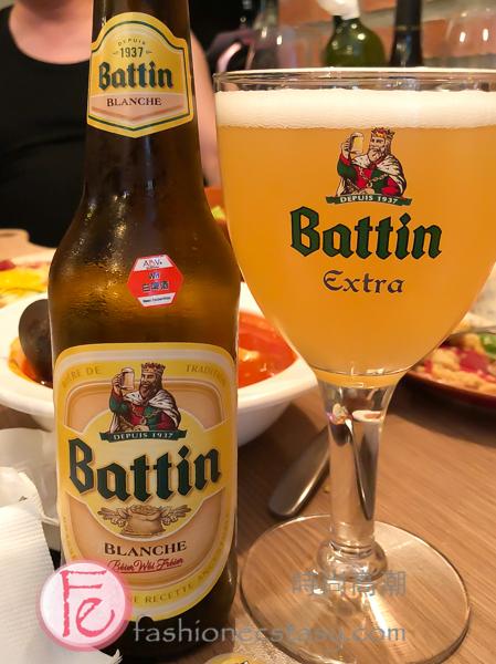 比利時系列金黃愛爾 (Belgian Pale Ale):「Battin Extra」