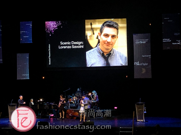 Lorenzo Savoini at Dora Mavor Moore Awards 2019