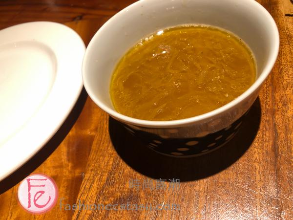 套餐附湯品 / Soup with Set at Have A Nice Day 好處餐廳 Have A Nice Day Restaurant Taipei review & Youtube vlog-3
