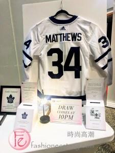 Auston Matthews' hockey jersey fashion runway