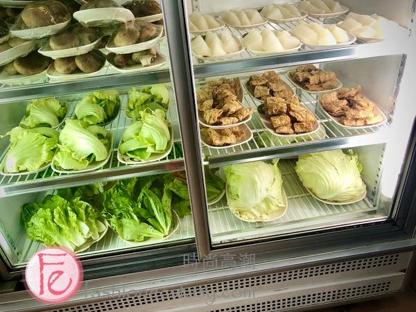日日青全羊肉鍋蔬菜類/ Ririqing Whole-Sheep's Hotpot Veggies