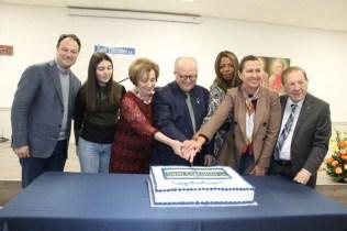 Unveiling Ceremony of Toronto Sam Ciccolini Laneway cake cutting / 多倫多Sam Ciccolini Laneway巷道命名揭幕儀式