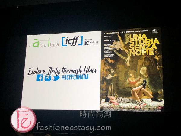 The Stolen Caravaggio (Una storia senza nome) Screening & Review / 「The Stolen Caravaggio (Una storia senza nome)」特映會及觀後感想