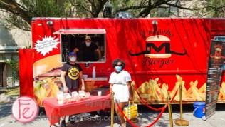 Mustache Burger Food Truck