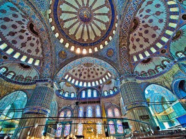 travel blog Blue Mosque, Istanbul, Turkey 土耳其伊斯坦堡旅遊記藍色清真寺