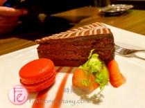 """馬奎士巧克力蛋糕 ($250)/""""Marquise Chocolate Cake"""" ($250TWD)"""