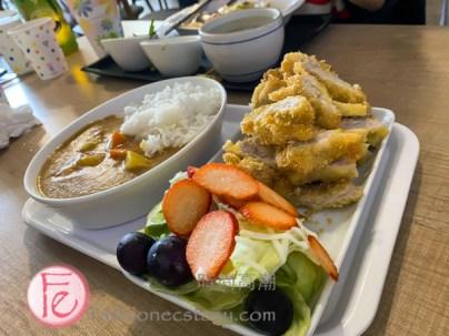 咖喱豬排飯 ($190元)/ Pork Cutlet (tonkatsu) with Curry Rice ($190NT)