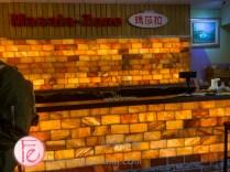 瑪莎菈三芝印度餐廳亮眼櫃檯 Masala-Zone Restaurant's glowing counter