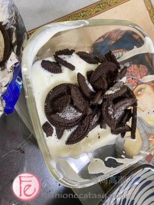 0 Failure Super Easy 2-Ingredient Oreo Ice-cream TikTok Viral Cake Recipe / 2樣食材零失敗OREO奧利奧冰淇淋蛋糕 - 殘編自創抖音爆紅食譜