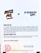 Miss Me x Romeo's Gin / Miss Me與Romeo's 杜松子酒聯名款