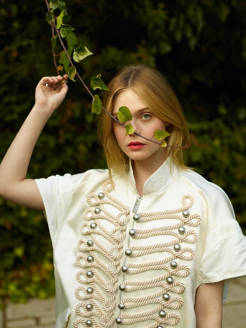ELLE UK February 2017 Elle Fanning By Thomas Whiteside