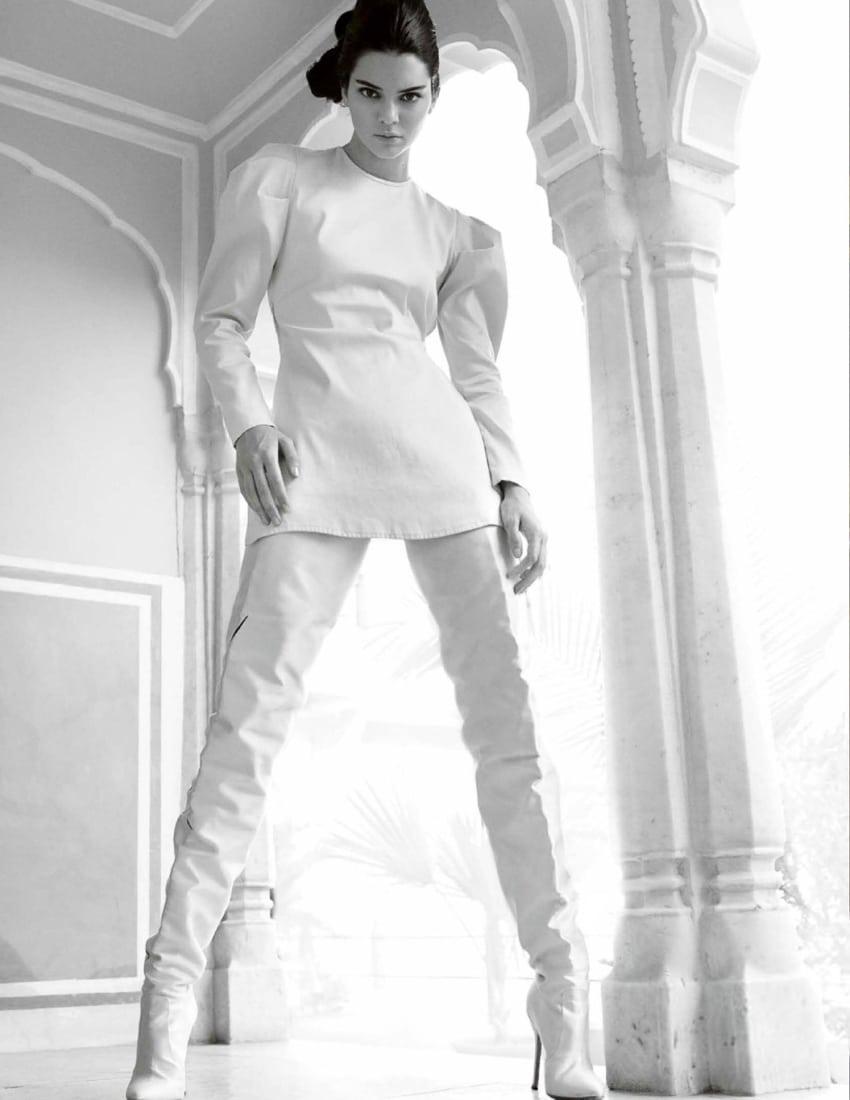 Vogue India May 2017 Kendall Jenner By Mario Testino
