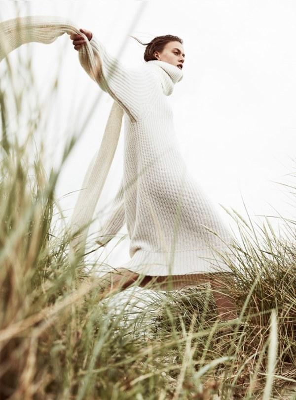 knitGranderu: White Dressing
