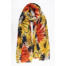 sjaal zonnebloemen1
