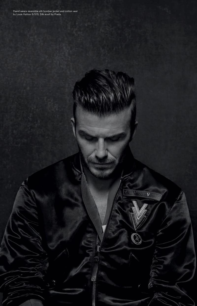 David Beckham By Collier Schorr For Another Man Magazine
