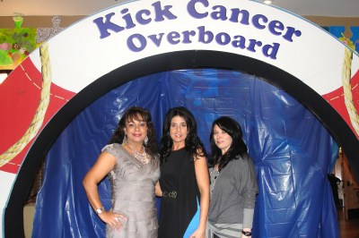 Fashion show for Kick Cancer overboard