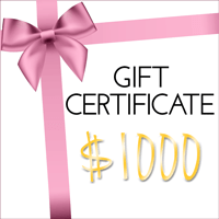 Fashion Fix Gift Certificate $1000