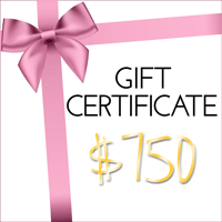 Fashion Fix Gift Certificate $750