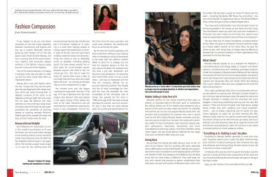 Christie Maruka featured in Show Retailing magazine