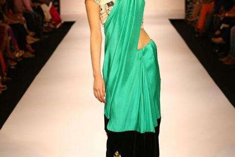 Masaba Gupta Cow Print at Lakme Fashion Week 2012