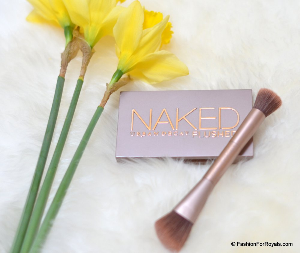 Naked Urban Decay Flushed Pallete Review