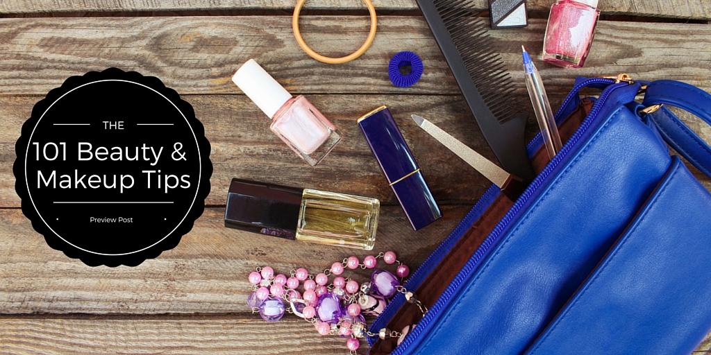 101 Beauty & Makeup Tips