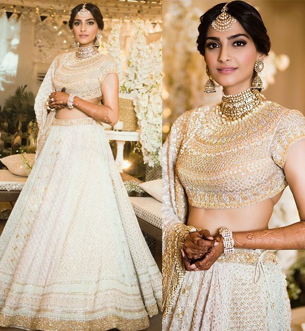 Sonam Kapoor Sangeet Outfit