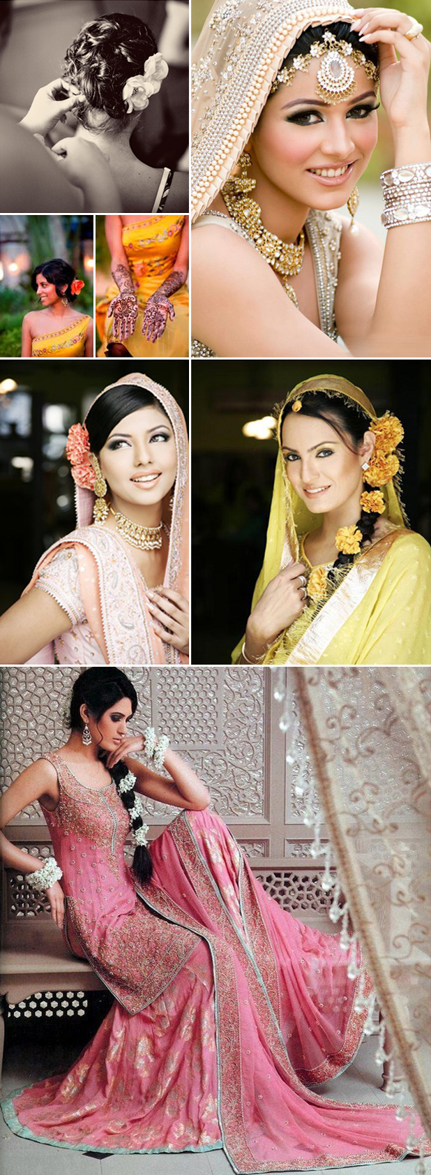 Indian Bride Spring Looks