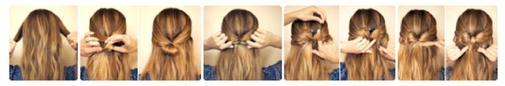 Bow Hairdo