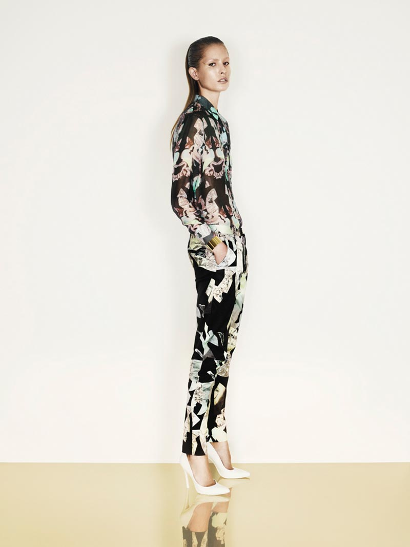 nadja3 Nadja Bender is Sleekly Modern for Designers Remixs Spring 2013 Campaign by Jens Langkjaer