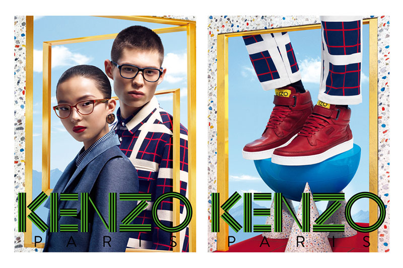 kenzo2 Xiao Wen Stars in Kenzo Accessories Fall/Winter 2012 Campaign by Frederik Heyman