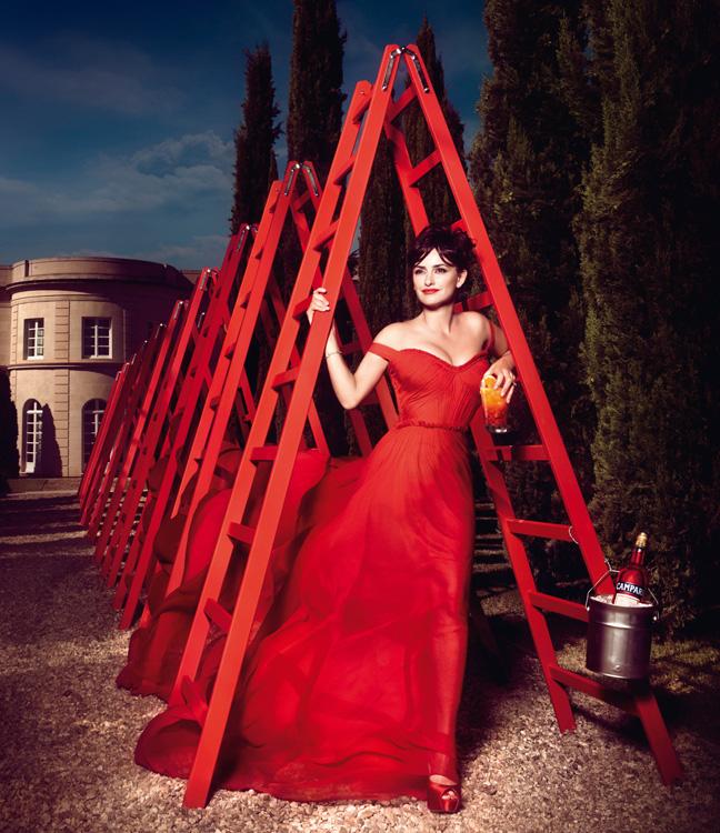 penelope cruz12 Penelope Cruz is Red Hot in the 2013 Campari Calendar