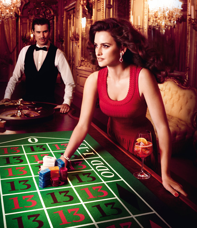penelope cruz2 Penelope Cruz is Red Hot in the 2013 Campari Calendar