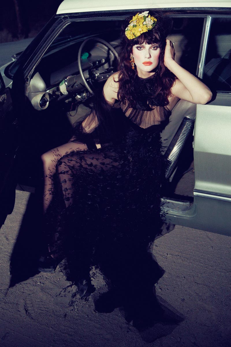 querelle jansen9 Querelle Jansen Takes a Road Trip for Numéro #138 by Sofia and Mauro