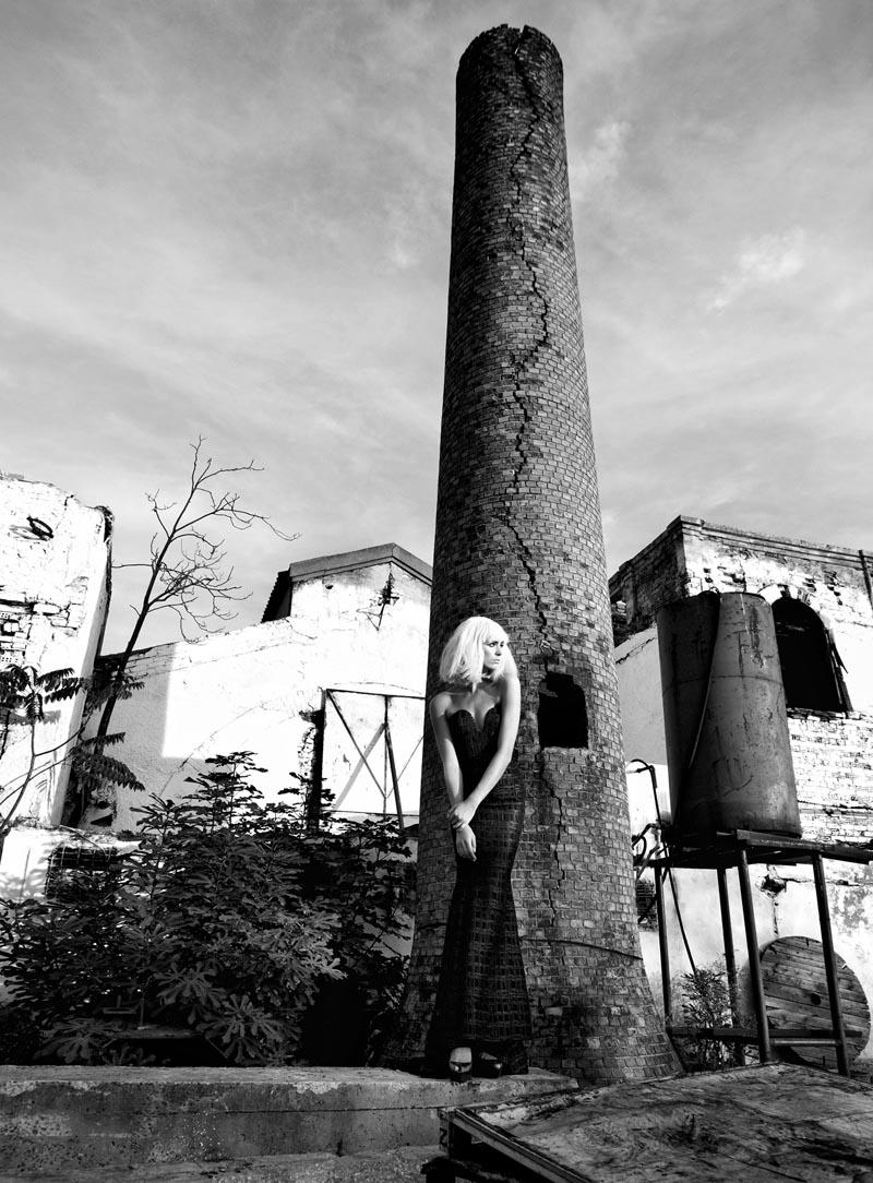 rose9 Koray Парлак Побеги Гламур с краю для Elele Magazine Ноябрь 2012