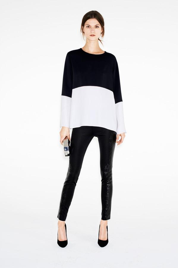 zara8 Kasia Struss Models Zaras December 2012 Lookbook