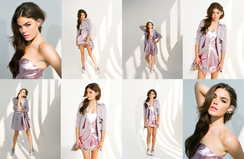 BambiBlyth6 Bambi Northwood Blyth is Pretty in Pastels for Nasty Gals December Lookbook