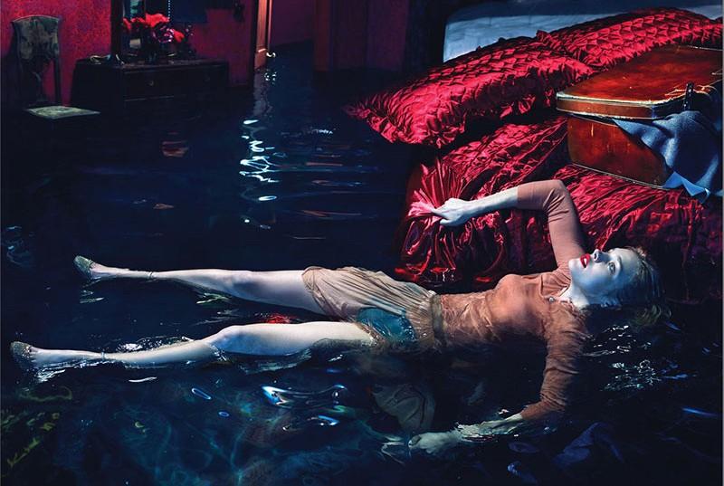 NataliaMM3 Наталья Водянова является Sleepless для W Журнал декабря 2012 года Mert & Marcus