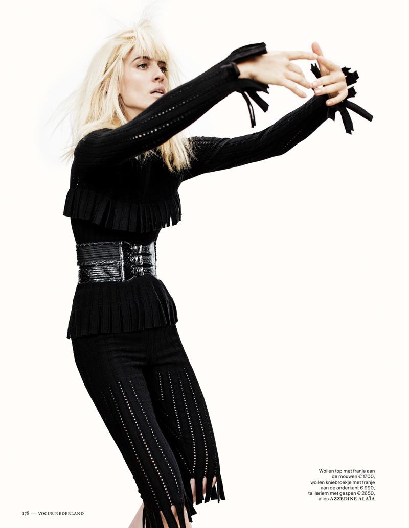 Наташа Наташа vojnovic5 Войновича Позы для Марк де Гроот в Vogue выпуск Нидерланды декабря
