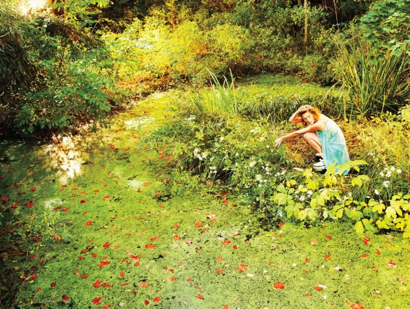 DariaEarthW9 800x604 Daria Werbowy это рай на земле для W Выпуск журналы январе Райан МакГинли