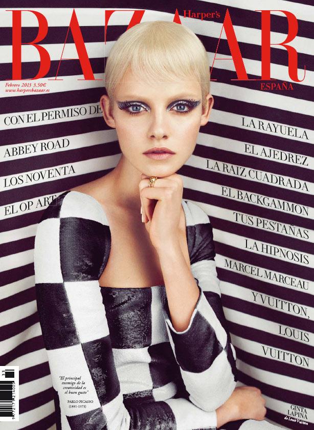 Harper's Bazaar Espana featuring Spring 2013 Louis Vuitton