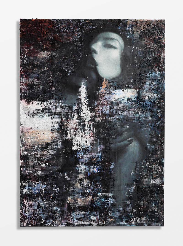 ZhangZiyi by hunterandgatti 02 Zhang Ziyi Gets Painted for Flaunt Magazine by Hunter & Gatti