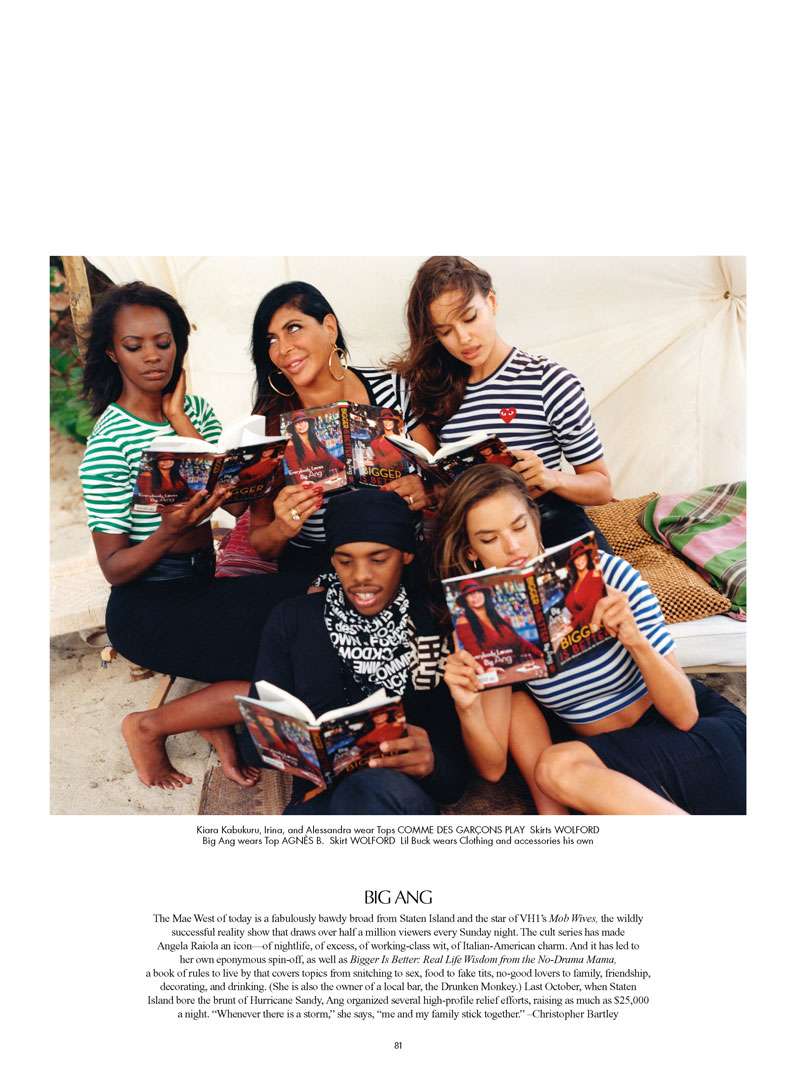 cr magazine bruce weber4 Alessandra Ambrosio and Irina Shayk Head to Miami with Bruce Weber for CR Fashion Book