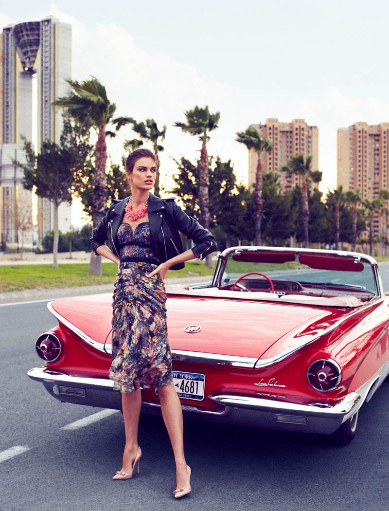 rianne ten haken elle spain2 Rianne ten Haken Poses for Xavi Gordo in Elle Spains March 2013 Cover Shoot